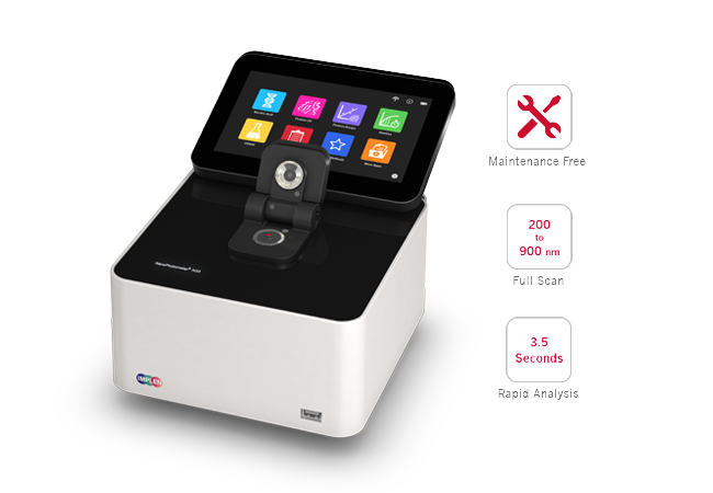 implen, nanophotometer, Best-in-class-microvolume-spectroscopy