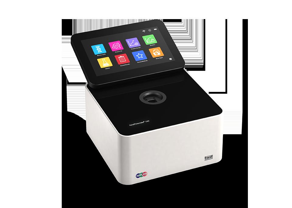 implen, nanophotometer, NanoPhotometer-C40-Spectroscopy-side2
